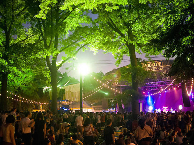 See live music at the BRIC Celebrate Brooklyn Festival