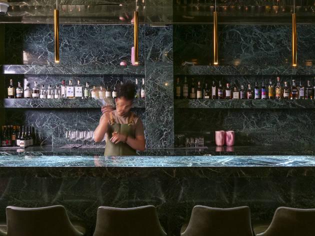 Bouvardia cocktail bar Bourke Street