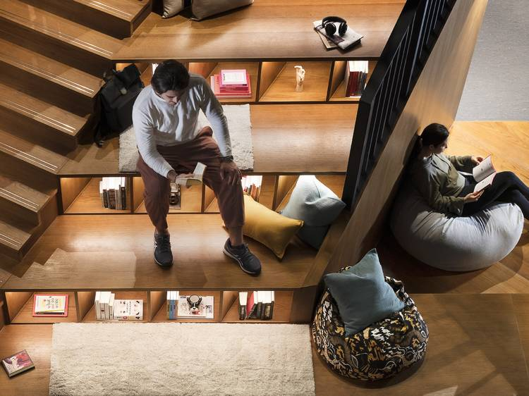 17-storey multifunctional communal space