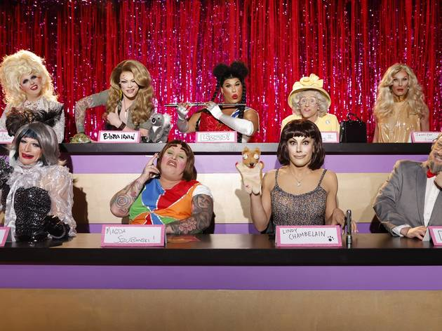 The queens assembled for Snatch Game.