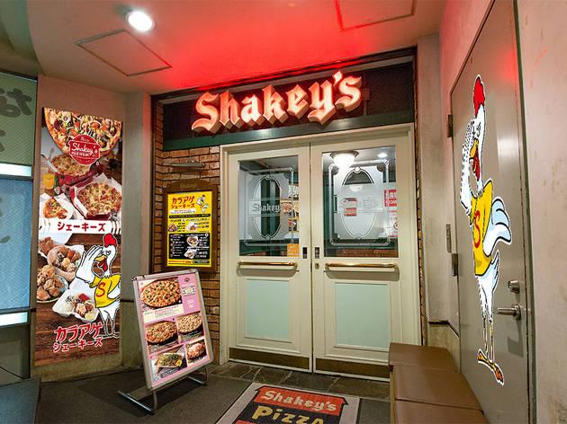 ピザレストランのパイオニア、シェーキーズ 渋谷店が復活