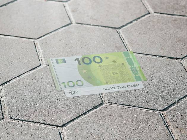 Billete de 100 euros de N26
