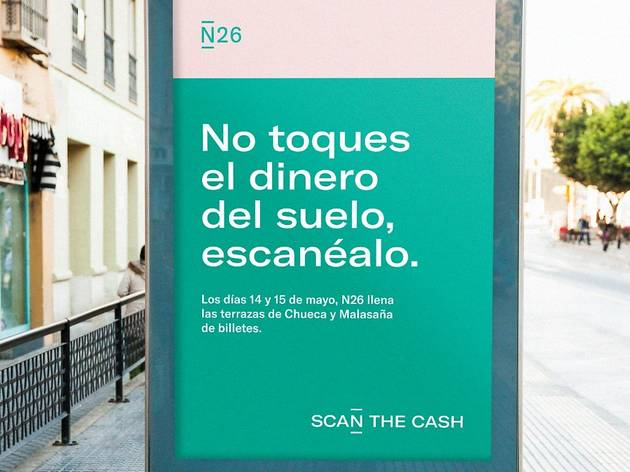 Scan the cash