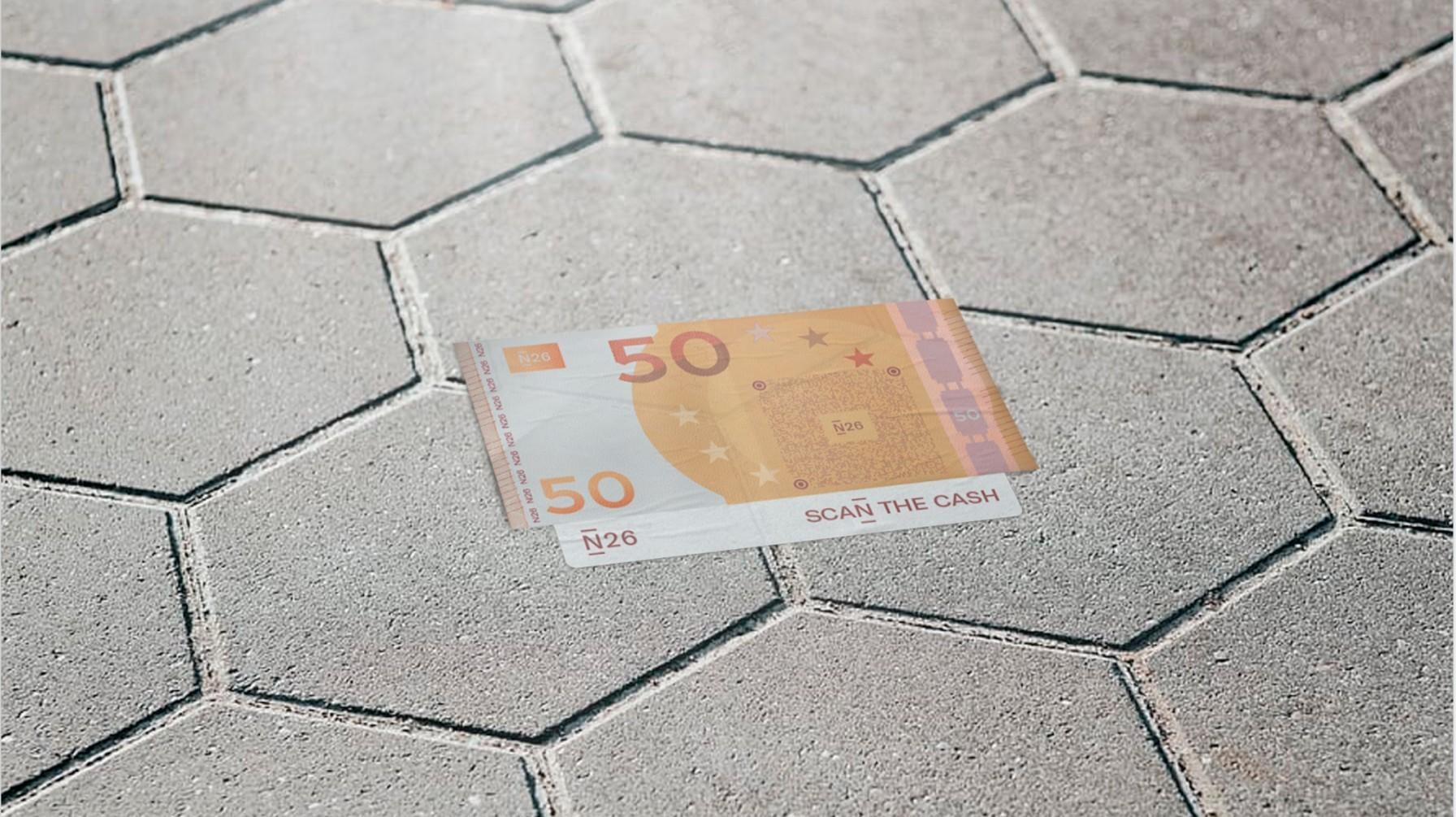 Billete de 50 euros de N26