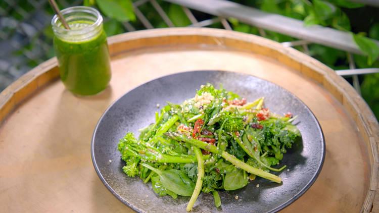 Superfoods Peru Blend & Grind Grilled Salad