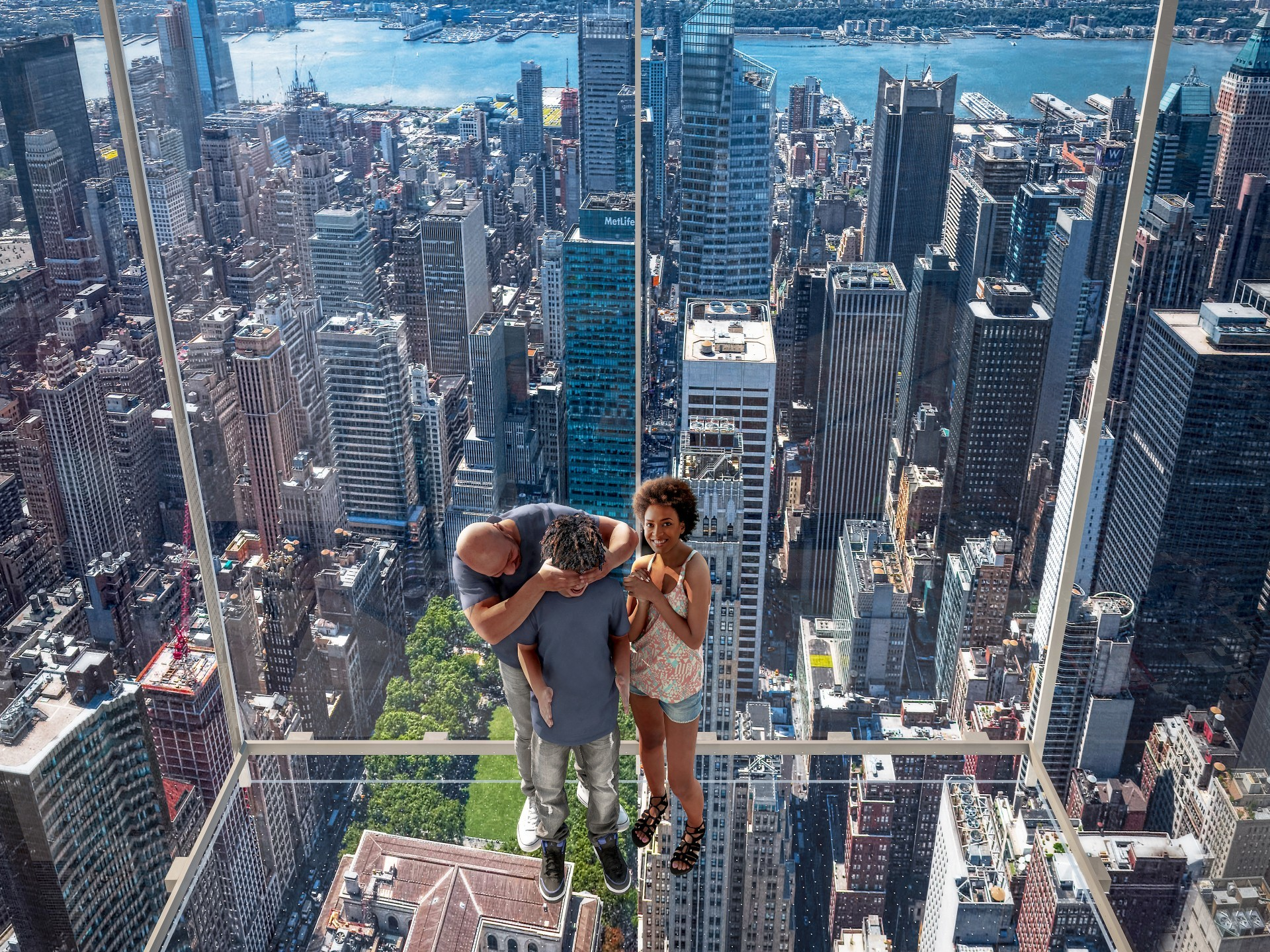 You'll be able to take a glass elevator to the top of a 1,401-foot skyscraper this fall
