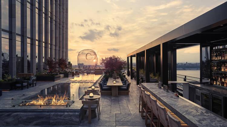 The terrace at Electric Lemon