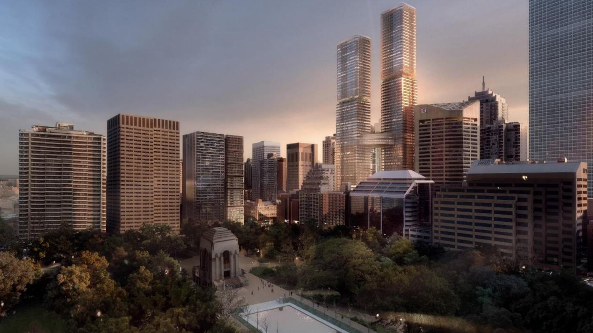 Nine skyscrapers transforming Sydney's skyline by 2030