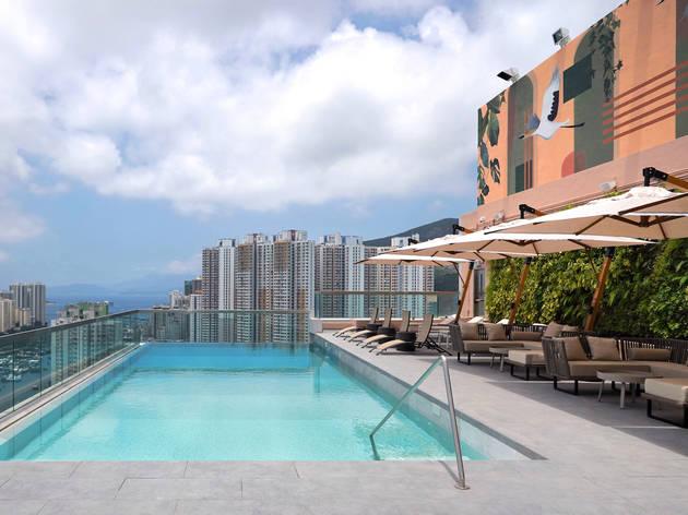 The Arca swimming pool