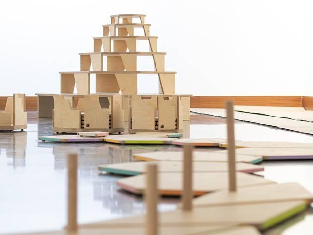 Abre en Retiro un nuevo espacio de juego para niños