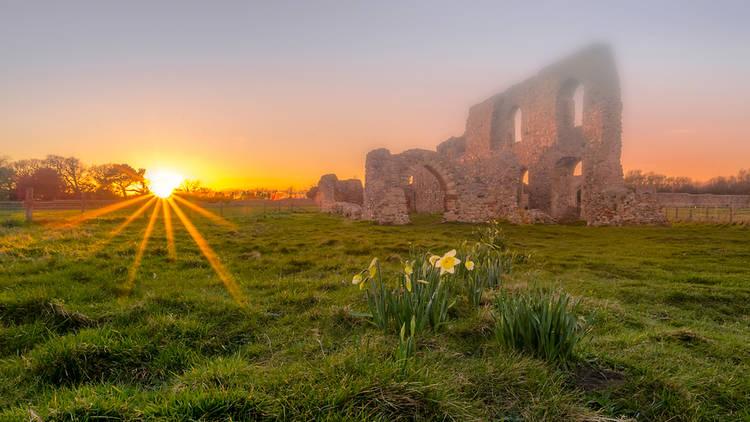 Ruins of Greyfriars Priory, Dunwich