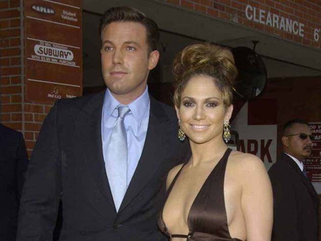 Why did Jennifer Lopez and Ben Affleck go on holiday together?