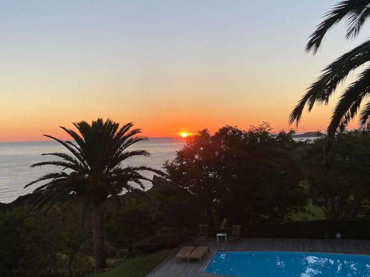 Frente al mar, en el País Vasco