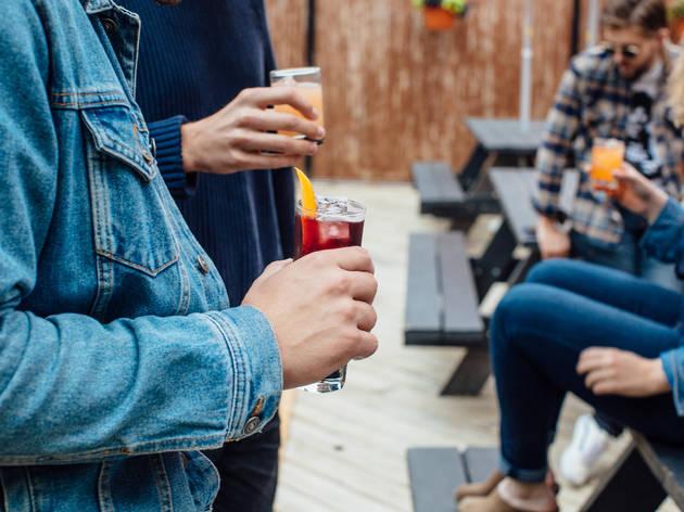 Ludlow Liquors patio