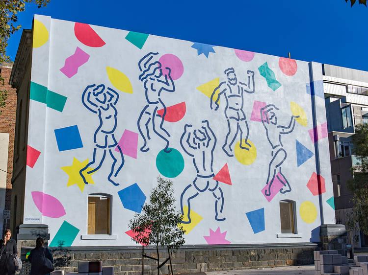 Mural de Miami Horror & Spenceroni en Collingwood