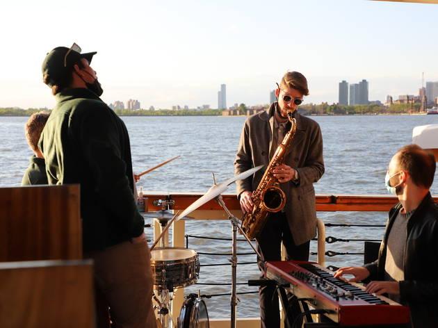 Classic Harbor Line sunset jazz cruise