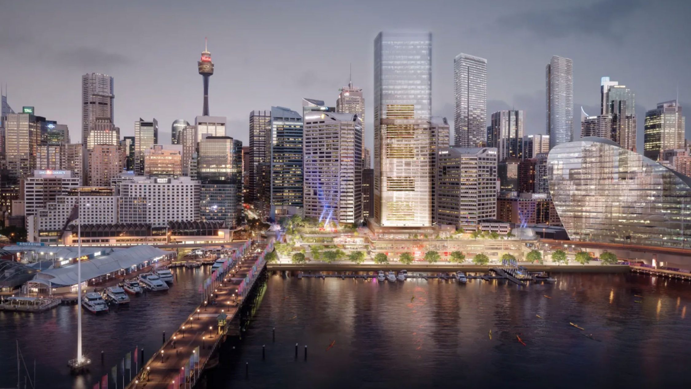 Cockle Bay Wharf redevelopment