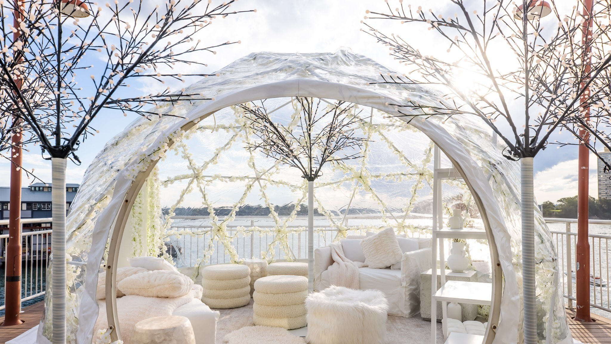 Igloos on the Pier