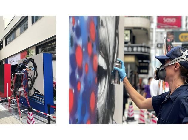 Elsa Jean de Dieu street art