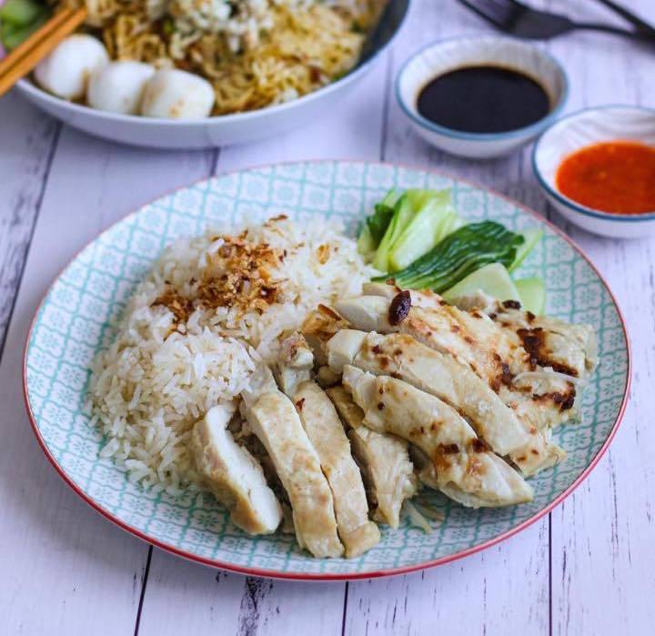 Killiney Kopitiam Hainanese chicken rice