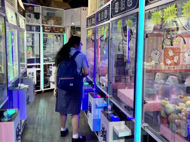 日本版夾公仔機