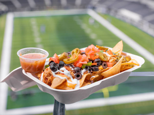Jon & Vinny are tackling the food at SoFi Stadium. Here's everything you can eat.
