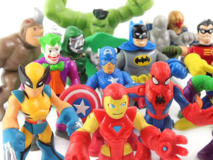La Estación Juguetera, el festival de juguetes vintage y actuales