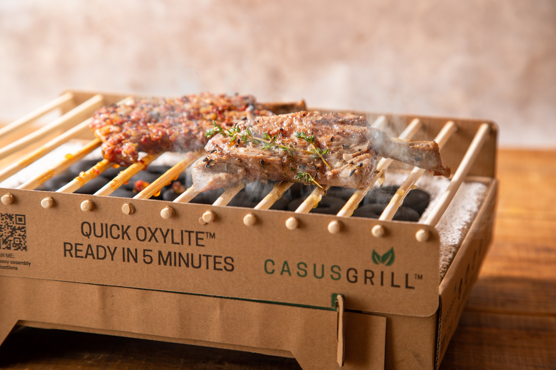 This lamb yakiniku restaurant in Tokyo is offering takeout with disposable grills