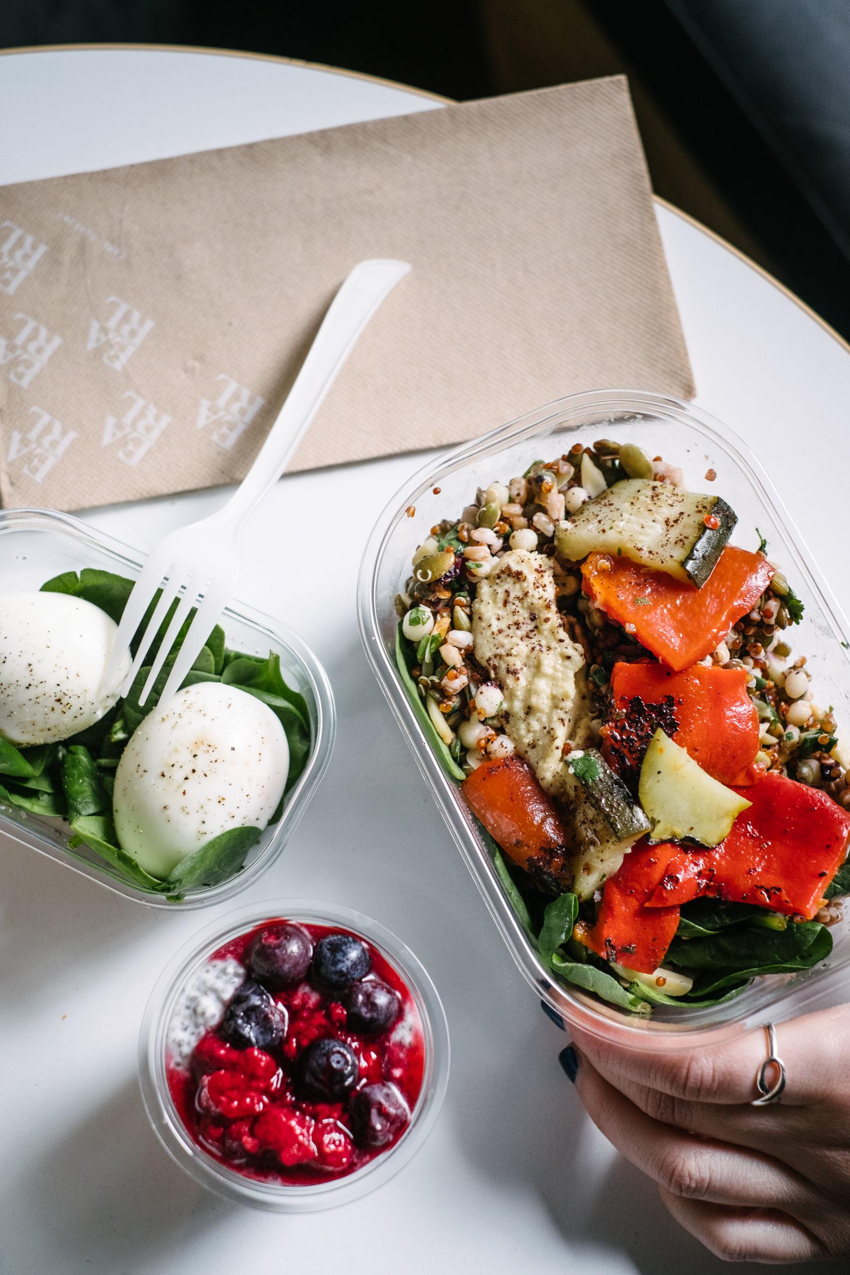 Earl Canteen salad