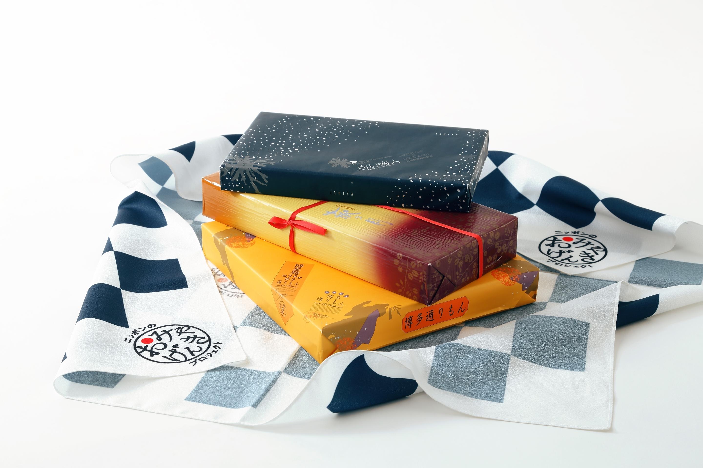 白い恋人×博多通りもん×萩の月、三大土産のコラボ商品が発売