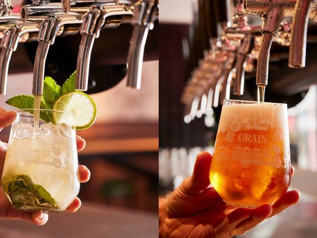 Tapped cocktails and beer