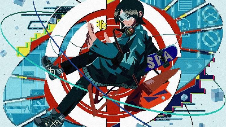 Shibuya Pixel Art 2021キービジュアル