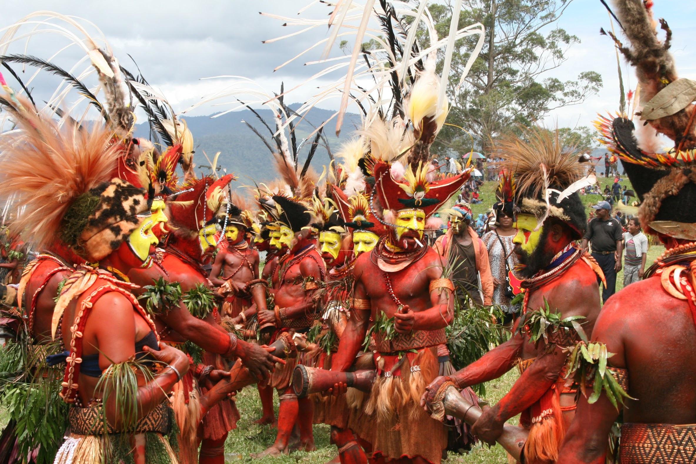 Exposició Música i natura a l'illa de Nova Guinea