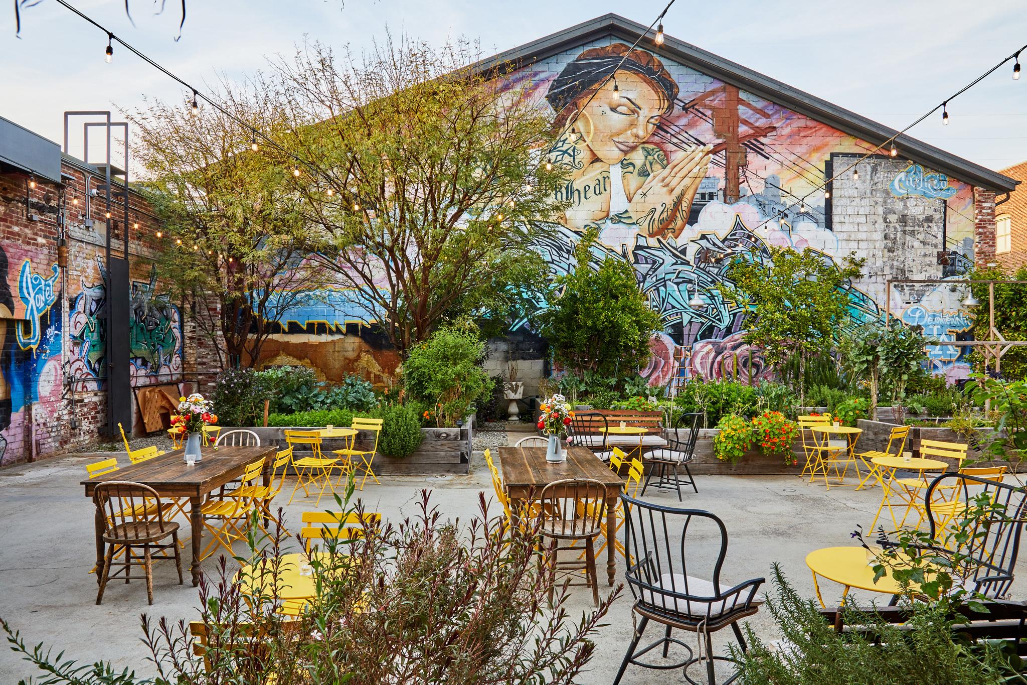 Garden Bar at Manuela