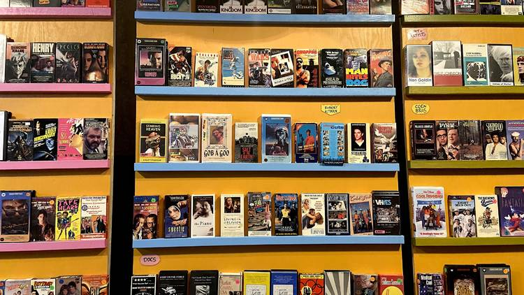 Analog VHS rentals