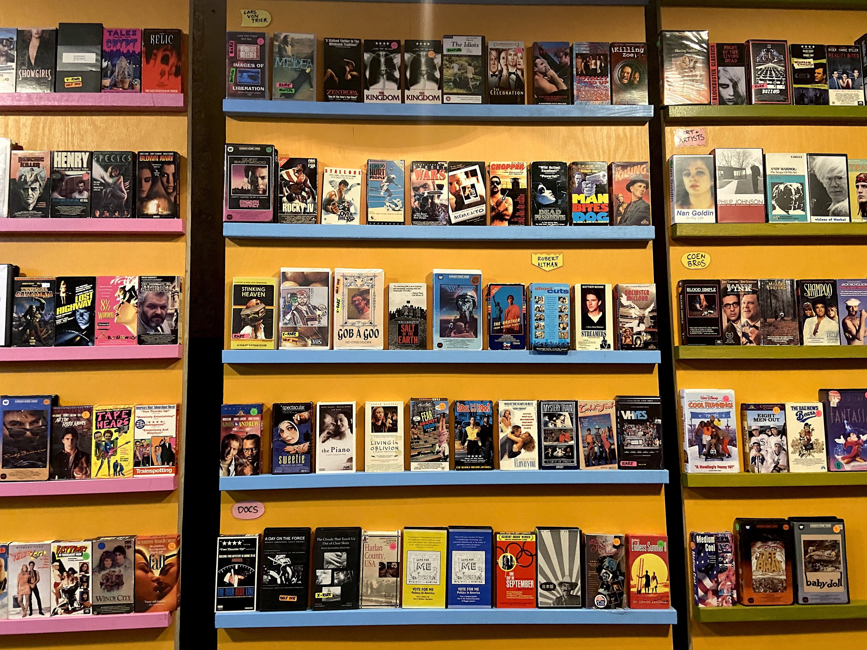 Rent a VHS tape from Joe Swanberg