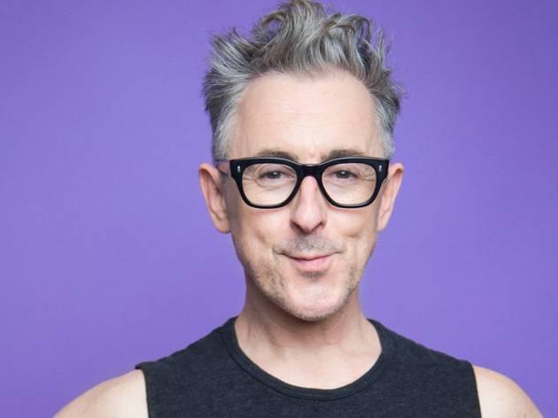 A close up of cabaret star Alan Cumming