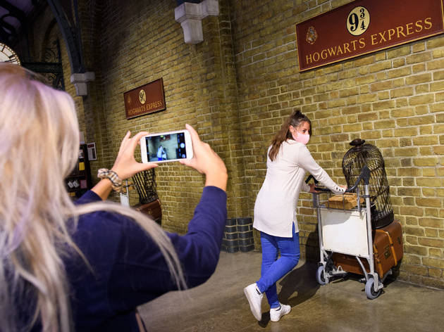 In Pictures: The first Pottheads returned to London's Harry Potter Studios this morning