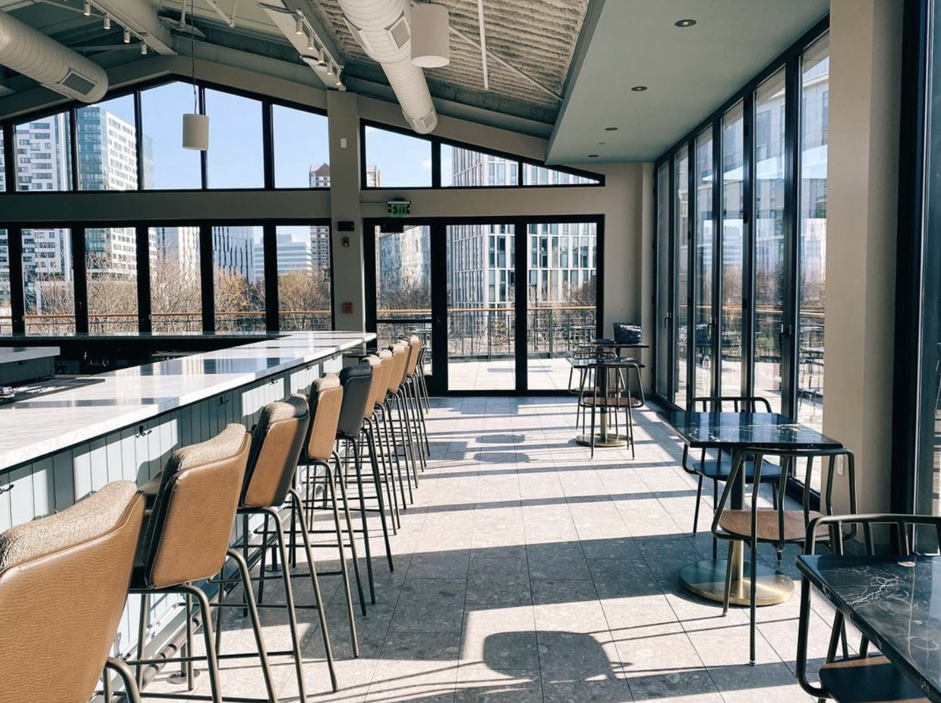 The Lexington provides rooftop drinks and eats in Cambridge Crossing.