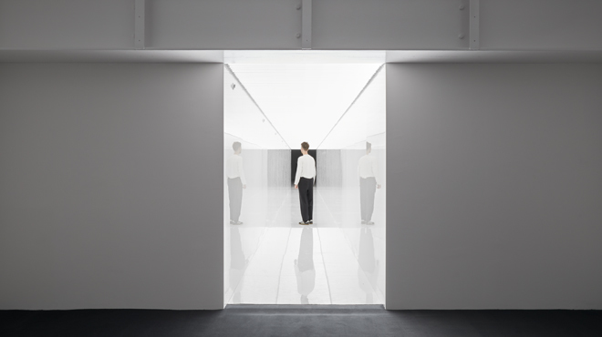 Ryoji Ikeda, spectra III, ©Jack Hems, 180 The Strand, 2021.
