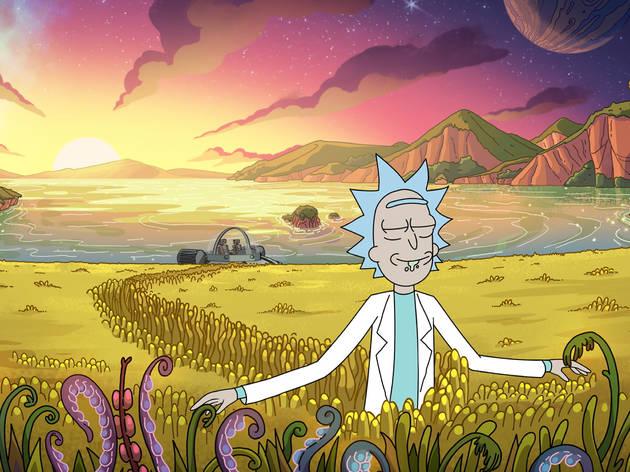 Rick and Morty season 4 still