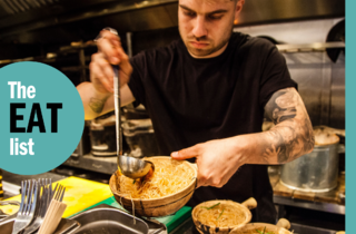 Eat list food restaurants london Kiln