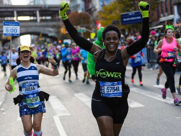 See the NYC Marathon in person once again!