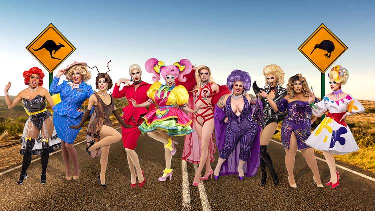 RuPaul's Drag Race Down Under season one cast