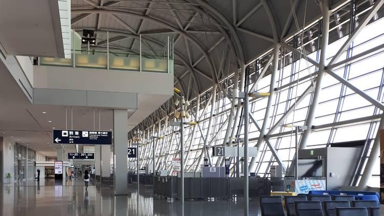 Haneda Airport during Covid-19