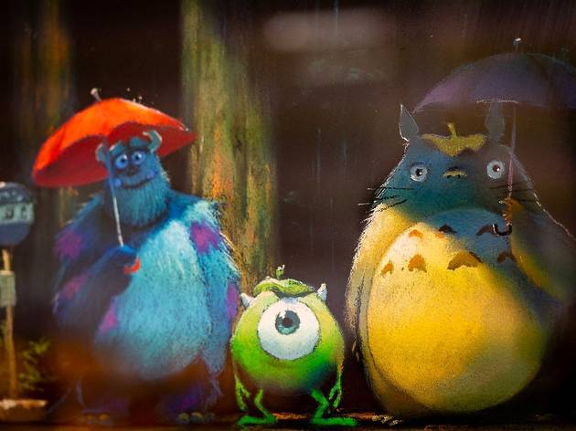 Is Studio Ghibli teasing a Pixar team-up?