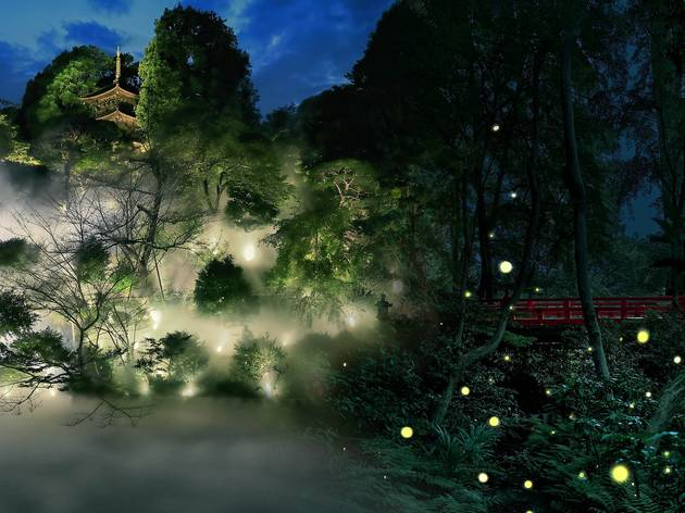 Hotel Chinzanso Tokyo is offering a dreamy dinner buffet accompanied by fireflies