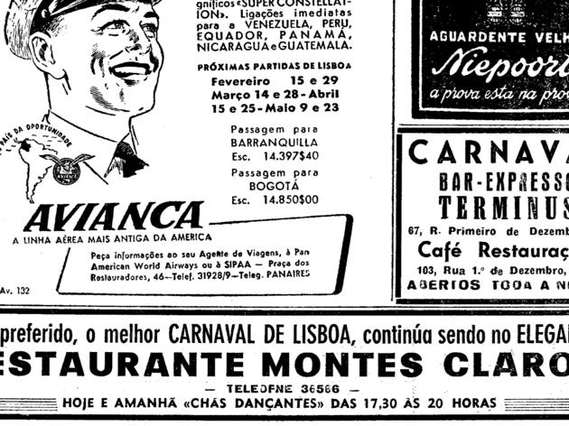 Página do Diário de Lisboa
