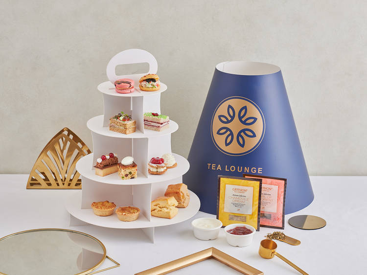 Restaurants and cafés that offer afternoon tea delivery in Singapore