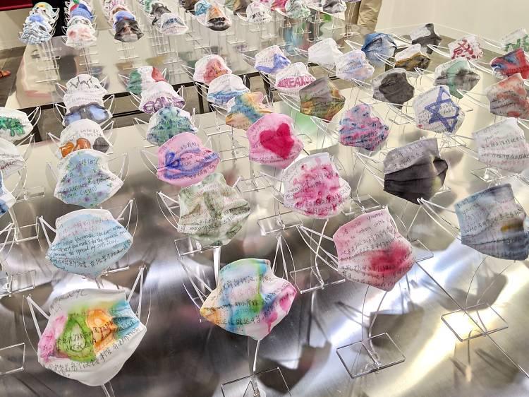 章燕紫《口罩系列》